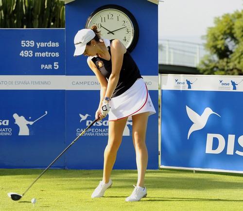 El Campeonato de España femenino, en  Golf del Sur
