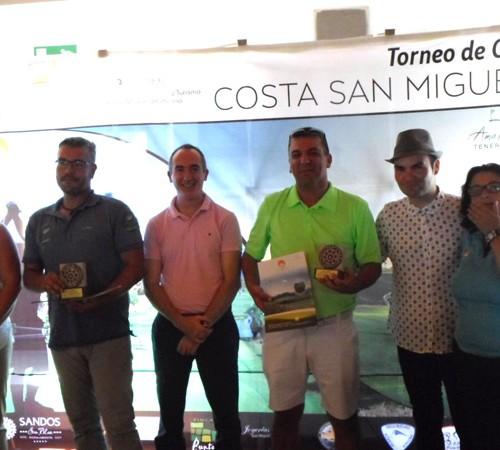 Results VIII TORNEO COSTA SAN MIGUEL 22/08/2015