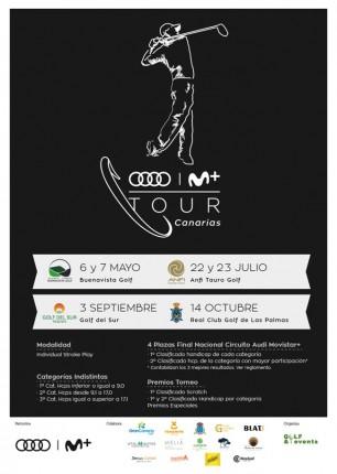 Cartel Audi Movistar+ Canarias 2017