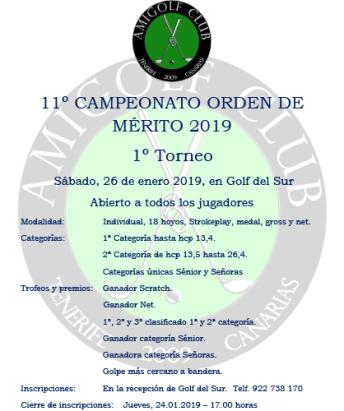 1º Torneo ODM - 26.01