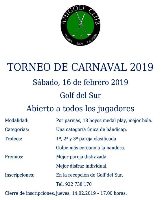 Cartel Torneo Carnaval