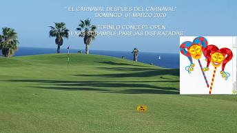 Torneo de Carnaval. Marzo de 2020